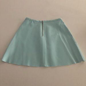 American Apparel Patent Skirt